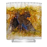 Power Strength And Beauty.  Shower Curtain