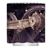 Power Train Shower Curtain