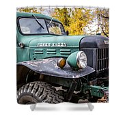 Power Wagon Shower Curtain
