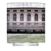 Powerhouse Shower Curtain