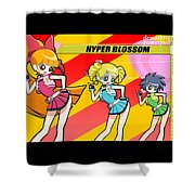 Powerpuff Girls Z Shower Curtain