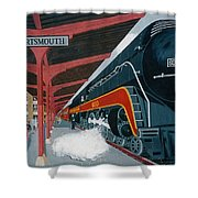 Powhatan Arrow At Portsmouth Shower Curtain