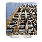 Ppl Building Allentown Shower Curtain