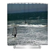 pr 120 - Windsurfer Shower Curtain