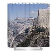 pr 152 - Half Dome 3  Shower Curtain