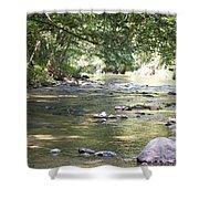 pr 164 - Mountain River Shower Curtain
