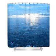pr 168 - Blue Sunset II Shower Curtain