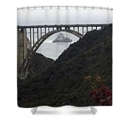 pr 170 - Bixby Bridge II Shower Curtain