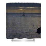 pr 237 - Evening Sail Shower Curtain