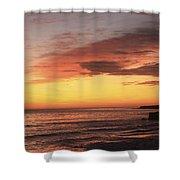 pr 239 - Sunset at Santa Cruz Shower Curtain