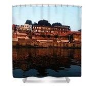Prabhu Ghat Shower Curtain