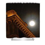 Prague At Night Shower Curtain