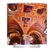 Prague Church Ceiling Shower Curtain