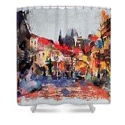 Prague Collection -1 Shower Curtain
