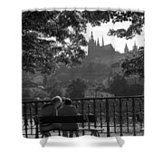 Prague II Shower Curtain