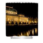 Prague National Theatre Shower Curtain