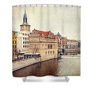 Prague View Shower Curtain