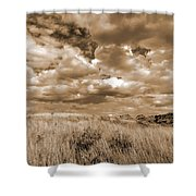 Prairie And Sky Shower Curtain