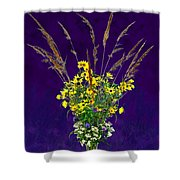 Prairie Bouquet Shower Curtain