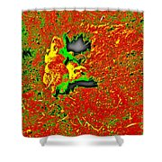 Prairie Dogs Abstract Shower Curtain