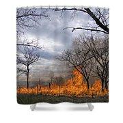 Prairie Fire Shower Curtain