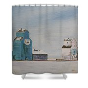 Prairie Giants II Shower Curtain