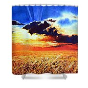 Prairie Gold Shower Curtain