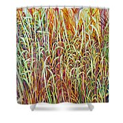 Prairie Grasses Shower Curtain