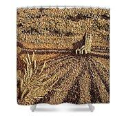 Prairie Harvest Shower Curtain