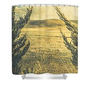 Prairie Hill Shower Curtain