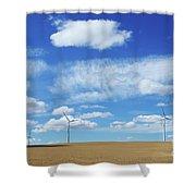 Prairie Landscape Alberta Canada Shower Curtain