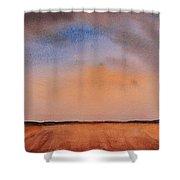 Prairie Playground Shower Curtain