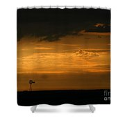 Prairie Storm Shower Curtain