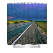 Prairie Storm Saskatchewan Shower Curtain