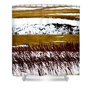 Prairie Winter Shower Curtain