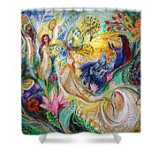 Praise Him With The Timbrel And Dance Shower Curtain