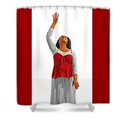 Highest Praise Shower Curtain