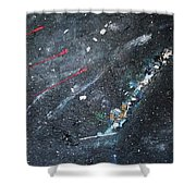 Prana Shower Curtain by Michael Lucarelli
