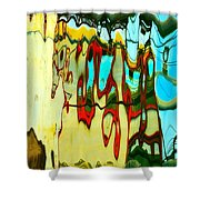 Prancing For Toulouse Shower Curtain
