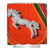 Prancing Pony Shower Curtain