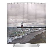 Pratt Pier Shower Curtain
