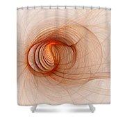 Praxidike Shower Curtain