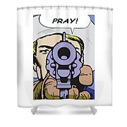 Pray Shower Curtain