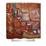 Prayer 24 - Tile Shower Curtain