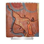Prayer 27 - Tile Shower Curtain