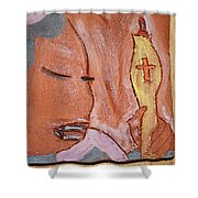 Prayer 33 - Tile Shower Curtain