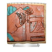 Prayer 40 - Tile Shower Curtain
