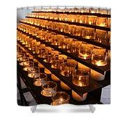 Prayer Candles Shower Curtain