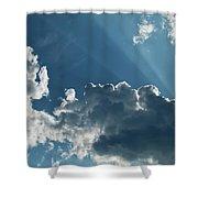 Prayer Cloud Shower Curtain