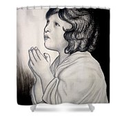 Prayer Is The Master-key Shower Curtain